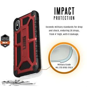 Ốp UAG Monarch Series iPhone X chống sốc 5 lớp (chính hãng)